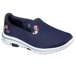 White Navy Skechers Skechers GOwalk 5 - Garland