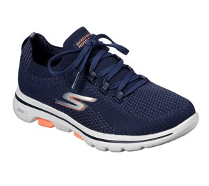Coral Navy Skechers Skechers GOwalk 5 - Uprise - FINAL SALE