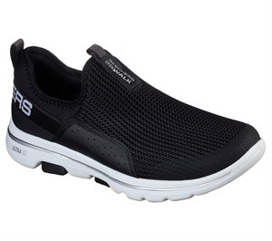 White Black Skechers Skechers GOwalk 5 - Sovereign