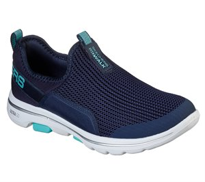Blue Navy Skechers Skechers GOwalk 5 - Sovereign