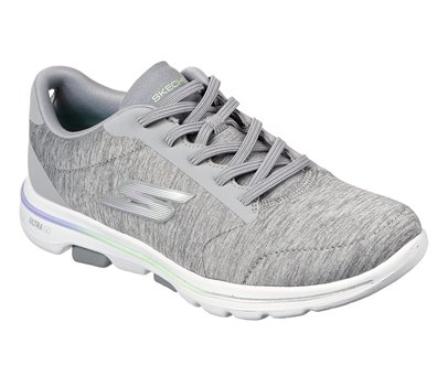 Purple Gray Skechers Skechers GOwalk 5 - Prodigy