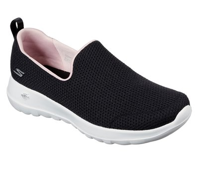 Pink Black Skechers Skechers GOwalk Joy - Admirable