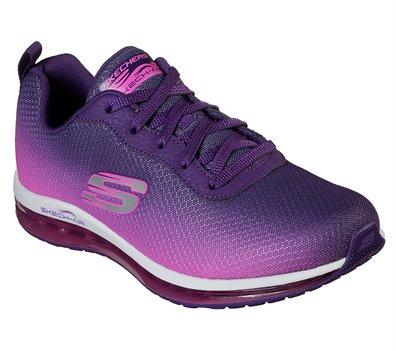 Pink Purple Skechers Skech-Air Element