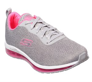Pink Gray Skechers Skech-Air Element