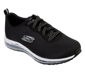 White Black Skechers Skech-Air Element - Sparkle Ave