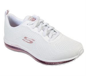 Gold White Skechers Skech-Air Element - Sparkle Ave