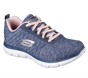 Navy Skechers Flex Appeal 2.0