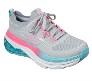Pink Gray Skechers Skechers Max Cushioning Air - Tycoon