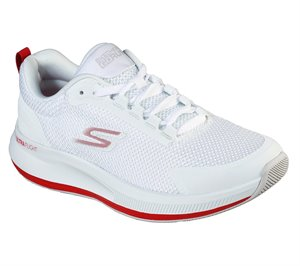 Red White Skechers Skechers GOrun Pulse - Validate - FINAL SALE