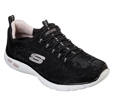 GOLDBLACK Skechers Relaxed Fit: Empire D'Lux - Spotted