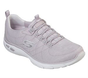 Purple Skechers Relaxed Fit: Empire D'Lux - Spotted