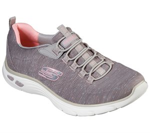 Pink Natural Skechers Relaxed Fit: Empire D'Lux