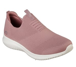 Pink Skechers Ultra Flex - First Take