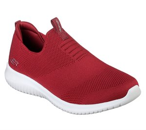 Red Skechers Ultra Flex - First Take