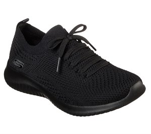 Black Skechers Ultra Flex - Statements