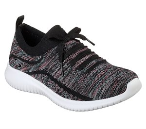 Multi Black Skechers Ultra Flex - Statements