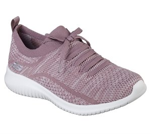 Purple Skechers Ultra Flex - Statements