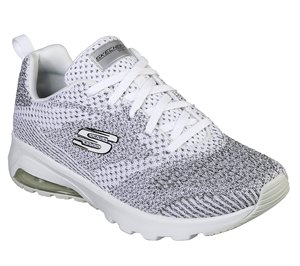 Black White Skechers Skech-Air Extreme - Not Alone