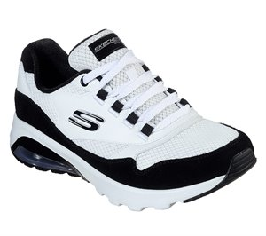 Black White Skechers Skech-Air Extreme - Loud Statement