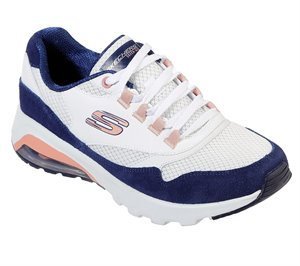 Navy White Skechers Skech-Air Extreme - Loud Statement