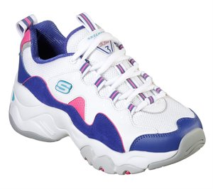 Purple White Skechers DLites 3 - Zenway