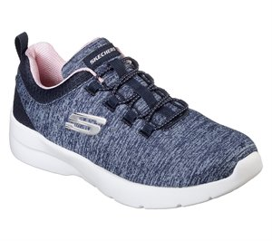 Pink Navy Skechers Dynamight 2.0 - In a Flash