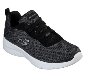 White Black Skechers Dynamight 2.0 - Quick Concept