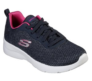 Pink Navy Skechers Dynamight 2.0 - Quick Concept