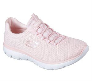 Pink Skechers Summits