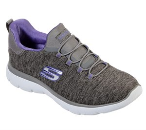Purple Gray Skechers Summits - Quick Getaway - FINAL SALE