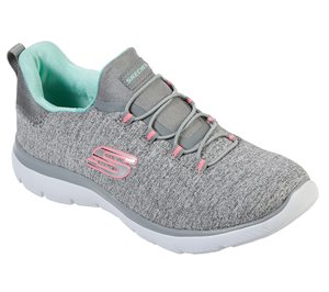 Multi Gray Skechers Summits - Quick Getaway - FINAL SALE