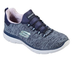 Purple Navy Skechers Summits - Quick Getaway