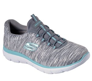 Blue Gray Skechers Summits - Light Dreaming