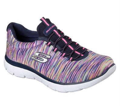 Multi Navy Skechers Summits - Light Dreaming