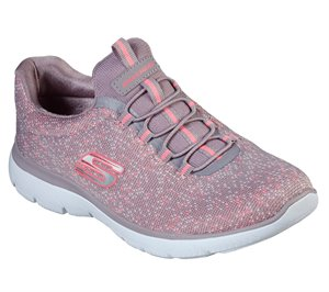 Pink Purple Skechers Summits - Lovely Sky