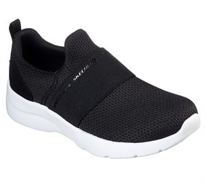 White Black Skechers Dynamight 2.0 - Quick Turn