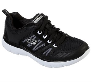 White Black Skechers Summits - New World