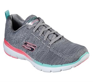 Multi Gray Skechers Flex Appeal 3.0 - Reinfall
