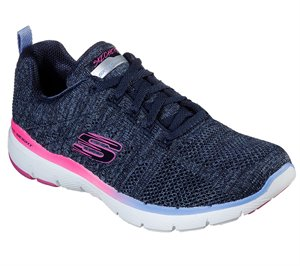 Multi Navy Skechers Flex Appeal 3.0 - Reinfall