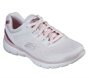 Pink Skechers Flex Appeal 3.0