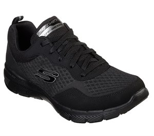 Black Skechers Flex Appeal 3.0 - Go Forward