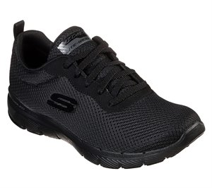 Black Skechers Flex Appeal 3.0 - First Insight