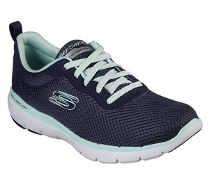 Blue Navy Skechers Flex Appeal 3.0 - First Insight