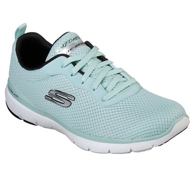 Skechers Flex Appeal 3.0 First Insight in Black Blue