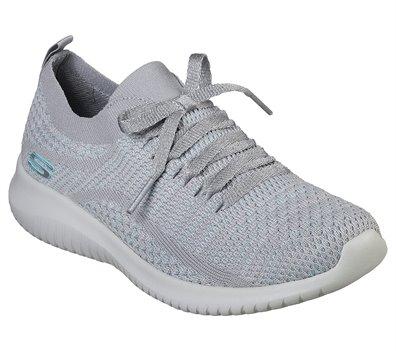 Blue Gray Skechers Ultra Flex - Good Looking