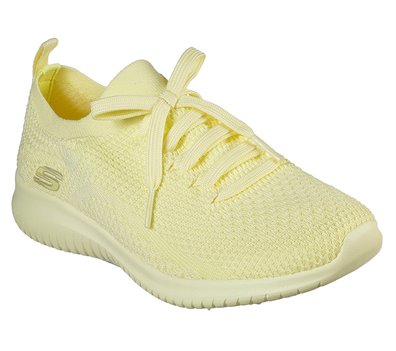 Sesión plenaria Deber respirar  Skechers Ultra Flex - Pastel Party in Yellow - Skechers Womens Casual on  Shoeline.com