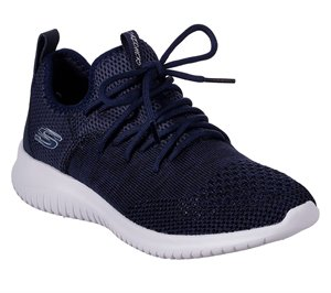 Navy Skechers Ultra Flex - Windsong