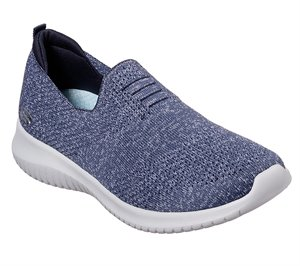 Navy Skechers Ultra Flex - Harmonious