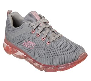 Pink Gray Skechers Skech-Air 92