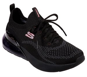Black Skechers Skech-Air Stratus